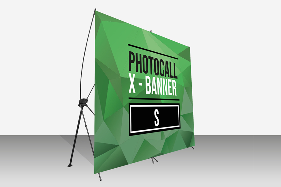 Photocall X Banner Display impreso