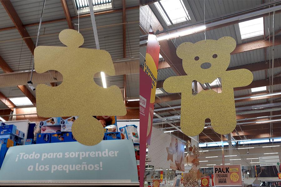 Cartón nido de abeja Retail