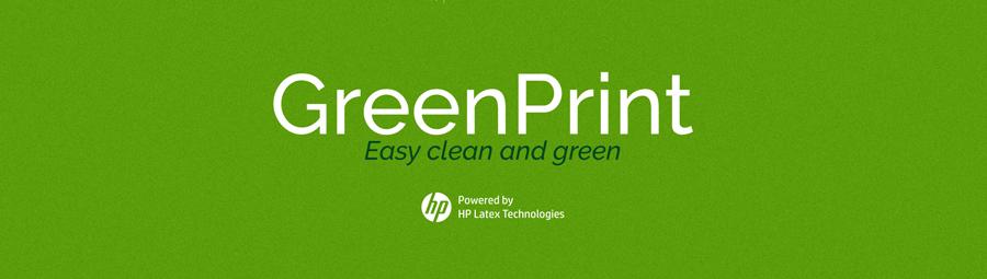 Impresión digital ecológica Green print Impresión sostenible