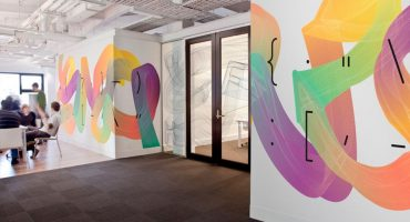 Impresión vinilo easy dot Wallpaper