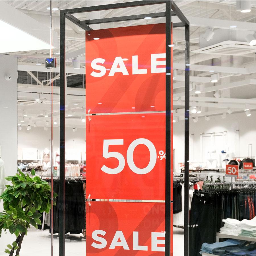 Impresión PLV Retail