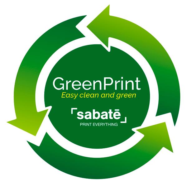 Sabaté Green print Impresión digital ecológica