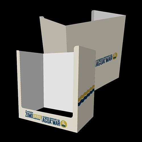 BOX PALLET CARTÓN ONDULADO