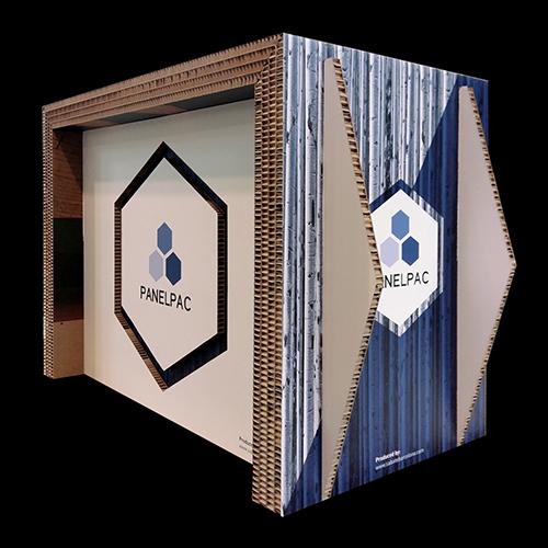 Mostrador multicapa cartón nido de abeja