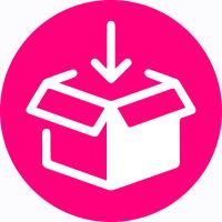 Pick and pack Impresión digital