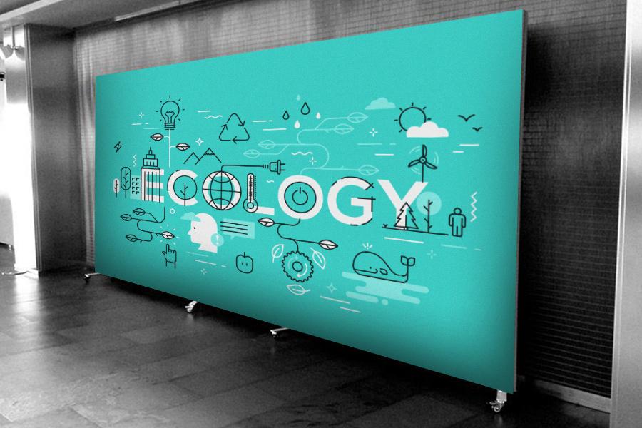 Impresión ecológica publicidad exterior
