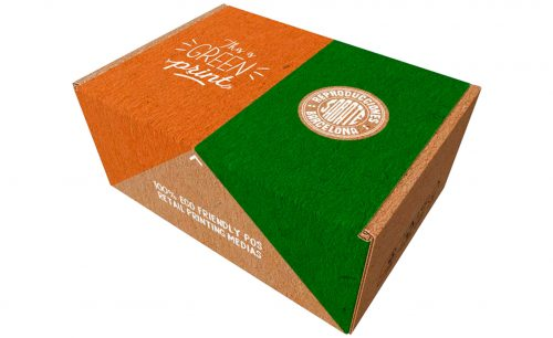 Impresión ecológica muestras Green Print