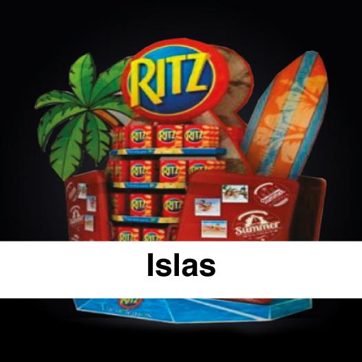 Islas punto de venta