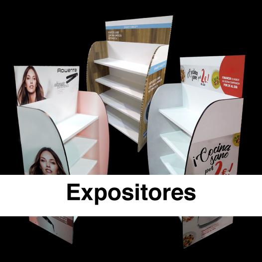 Expositores punto de venta
