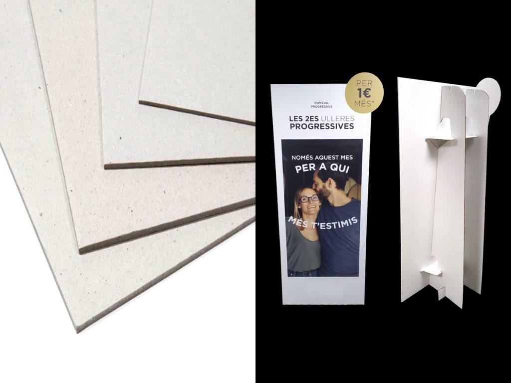 Impresión en rígidos cartón compacto