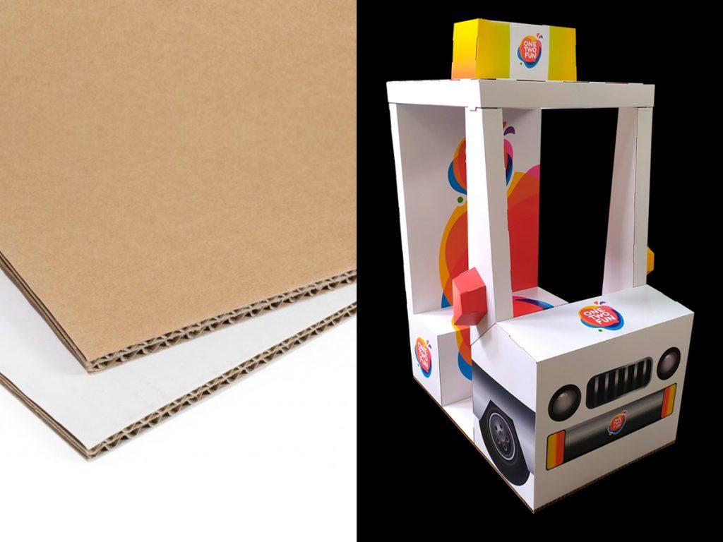 Impresión en rígidos cartón ondulado