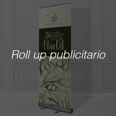 Rol up publicitario Displays impresos