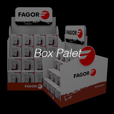 Box palet Impresión para Punto de Venta