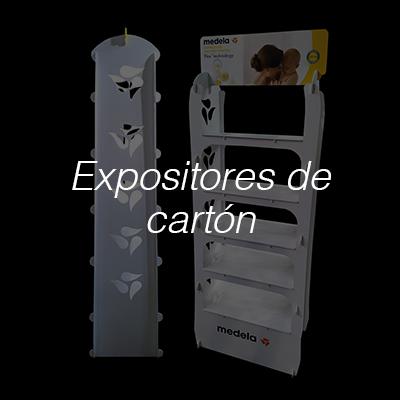 Expositores de cartón Displays impresos