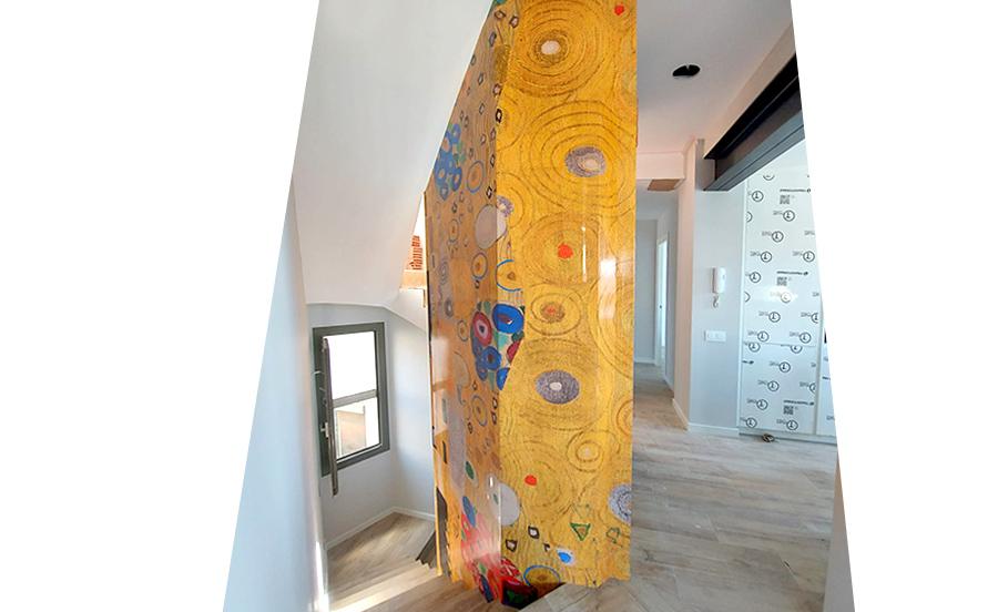 Vinilo adhesivo Klimt
