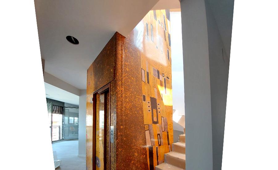 Decoración interior Klimt